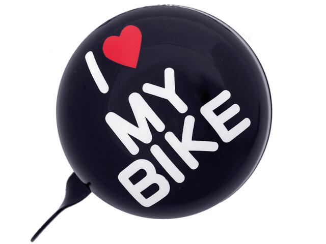URBAN PROOF Ding Dong Bike Bell 8cm white/black